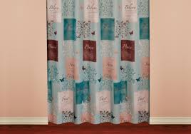 Walmart Canada Bathroom Curtains by Genius Silk Drapes Tags Turquoise And Orange Curtains White And
