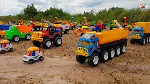 100 Small Dump Trucks Big Truck Rescue Cars Toys For Kids Excavator