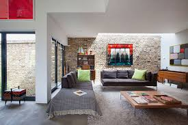 Retro Style In Interior Design Ideas With Rustic Furniture And Brick Wall Decor