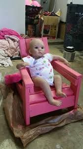 Baby Doll Chair | Ana White How To Build A Rocking Horse Wooden Plans Baby Doll Bedding Chevron Junior Rocking Chair Pad Pink Chairs Diy Horse Tutorials Diy Crib Doll Plan The Big Easy Motorcycle Wood Toy Plans Pdf Download Best Ecofriendly Toys That Are Worth Vesting In And Make 2018 Ultimate Guide Miniature Fniture You Can Make For Dollhouse Or Fairy Garden Toy Play Childs Vector Illustration Outline