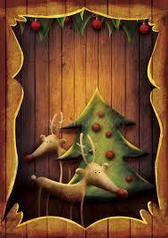 l arbre a cadre carte de noël rudolph avec l arbre dans le cadre en bois images