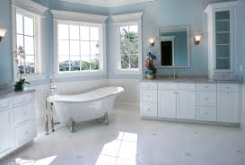 Paint Color For Bathroom Cabinets by Blue Bathroom Cabinets Decoration Ideas Information About Home