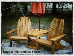 Ana White Childs Adirondack Chair by Ana White Double Pallirondack Settee Diy Projects