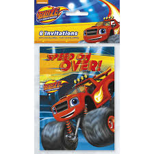 Blaze And The Monster Machines Invitations, 8 Ct - Walmart.com Birthday Cards Boys Monster Trucks Truck Nestling Party Invitations Invitation Examples Truck Racing Car 2 3 Etsy 13 Best Jam Inspirational Amazon Lovely Cyclops 19 Mormotanet Pink Svg File With Hearts To Make Shirts Invitations Invite Naptime Serenity Invites Unique Of Blaze And The Templates Free Printable Free