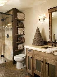 Rustic Design Ideas For Home Bathroom Adorable Interior