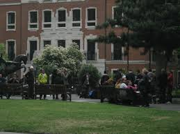 Soho Square At About 1045 Not Much Happening