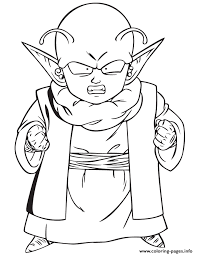 Dragon Ball Z Dende Coloring Page Pages Print Download 466 Prints