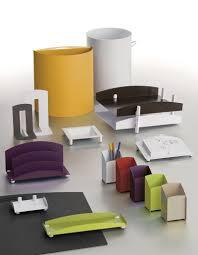 accessoires de bureau design chambre bureau originaux bureau design moby blanc laque objets