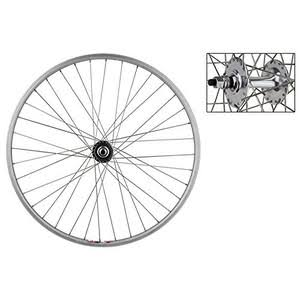 "Wheel Master Weinmann LP18 36 Hole Bicycle Front Wheel - Silver, 27"" x 1.0"""