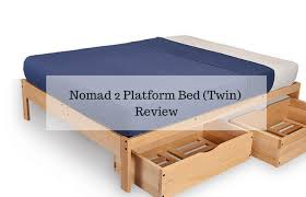 Nomad 2 Platform Bed Twin Review
