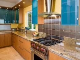 glass tile backsplash with granite countertops simple brilliant