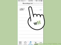 How to Record Phone Calls on an iPhone with wikiHow