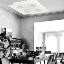 led deckenleuchte küchenle 4 flammig deckenle weiß 230v dimmbar