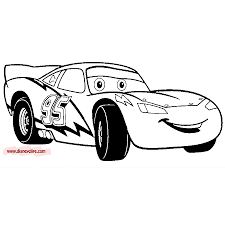 Download Coloring Pages Lightning Mcqueen Page Collection Cars For Child