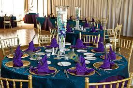 Peacock Table Decoration Ideas amazing peacock wedding table