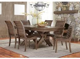 Liberty Furniture Dining Room 7 Piece Trestle Table Set