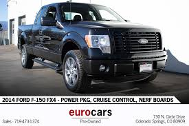 100 Trucks For Sale In Colorado Springs 2014 D F150 FX4 Stock E1267 For Sale Near CO