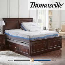 Adjustable Split Queen Bed by Thomasville Momentum Gel Rest 12