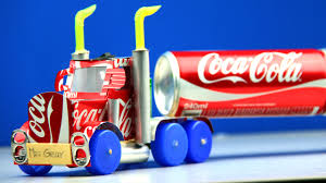 How To Make A Coca-Cola Truck With DC Motor - Awesome Coca-Cola ...