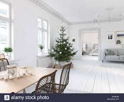 3d illustration die neue nordische wohnzimmer mit einem