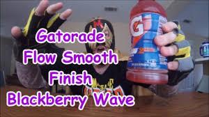 Gatorade Flow Smooth Finish Blackberry Wave