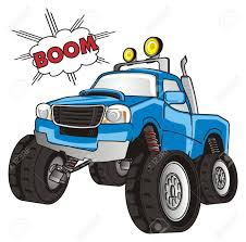 100 Blue Monster Truck And Boom Stock Photo Picture And Royalty Free
