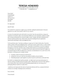 Retail Supervisor Cover Letter Manager Office Sample Resume Companion Shift
