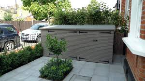 Suncast Shed Bms5700 Shelves by Garbage Can Shed Firewood Trash Can Shed Outdoor Suncast Sheds