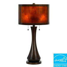 Mica Lamp Shade Company by Mica Lamp Shade Material Cal Lighting In Table The Home Depot