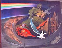 Denver Colorado Airport Murals by Denver Airport Murals Pictures Are Said To Say A Thousand Words