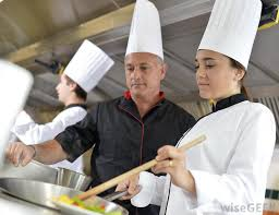 what does a chef do with pictures