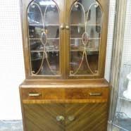 Henredon Walnut China Cabinet by Furniture