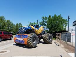 Had This Ugly Seahawks Monster Truck Show Up In Town. : Seahawks