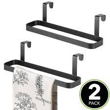 robuster küchentuchhalter für die schranktür mdesign 2er set