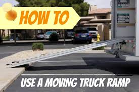 100 Budget Truck Rental Brooklyn How To Use A Moving Ramp Moving Insider