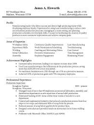 Production Supervisor Resume Examples Awesome Researchon Web Fc2