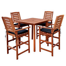 5 Piece Cinnamon Brown Hardwood Outdoor Bar Height Bistro Set ... Homeofficedecoration Outdoor Bar Height Bistro Sets Rectangle Table Most Splendiferous Pub Industrial Stools 4339841 In By Hillsdale Fniture Loganville Ga Lannis Stylish Pub Tables And Chairs For You Blogbeen Paris Cast Alinum Are Not Counter Set Home Design Ideas Kitchen Interior 3 Piece Kitchen Table Set High Top Tyres2c 5pc Cinnamon Brown Hardwood Arlenes Agio Aas 14409 01915 Fair Oaks 3pc Balcony Tall Nantucket 5piece At Gardnerwhite Wonderful 18 Belham Living Wrought Iron