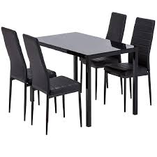 Galleon - Mecor Dining Table Set, 5 Piece Kitchen Table Set ...