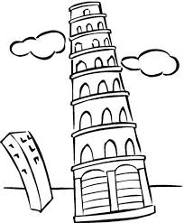 Tower Coloring Pages 11