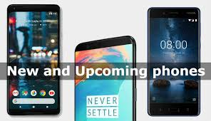 New and Up ing smartphones in India November 2017