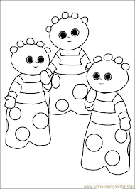 23 In The Night Garden Printable Coloring Pages For Kids Find On Book Thousands Of