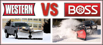 100 Snow Plows For Small Trucks Plow Comparison Western VS Boss PlowNews