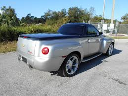 Supercharged Six-Speed Chevy SSR For Sale - Retro Chevrolet Pickup ...