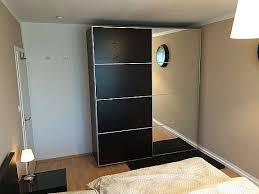pax schlafzimmer kleiderschrank bett kommode braun 1