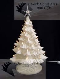 Christmas Tree Toppers Etsy by White Christmas Ceramic Christmas Tree 16 Inches