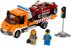 Flatbed Truck - LEGO CITY Set 60017