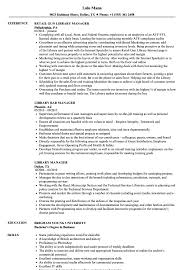Library Manager Resume Samples | Velvet Jobs Library Specialist Resume Samples Velvet Jobs For Public Review Unnamed Job Hunter 20 Hiring Librarians Library Assistant Description Resume Jasonkellyphotoco Cover Letter Librarian Librarian Cover Letter Sample Program Manager Examples Jscribes Assistant Objective Complete Guide Job Description Carinsurancepaw P Writing Rg Example For With No Experience Media Sample Archives Museums Open