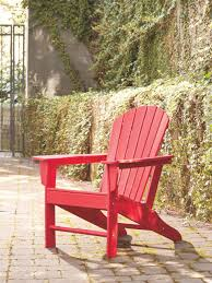 The Sundown Treasure Red Adirondack Chair Available At Sweet ... Outdoor Patio Seating Garden Adirondack Chair In Red Heavy Teak Pair Set Save Barlow Tyrie Classic Stonegate Designs Wooden Double With Table Model Sscsn150 Stamm Solid Wood Rocking Westport Quality New England Luxury Hardwood Sundown Tasure Ashley Fniture Homestore 10 Best Chairs Reviewed 2019 Certified Sconset Polywood Official Store