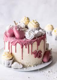ruby schokoladen drip cake