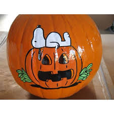 Snoopy Pumpkin Carving Kit by 25 Best Hand Painted Pumpkins Images On Pinterest Hand Painted